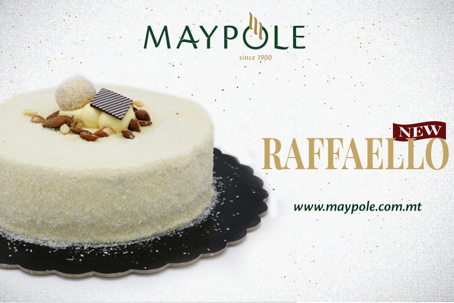Introducing our NEW Raffaello Cake